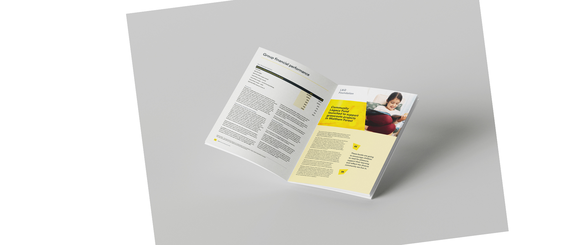 L&Q's Financial Statements 2021 booklet
