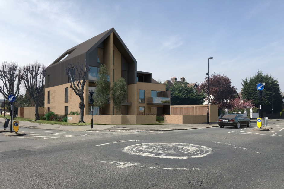 New homes and a roundabout