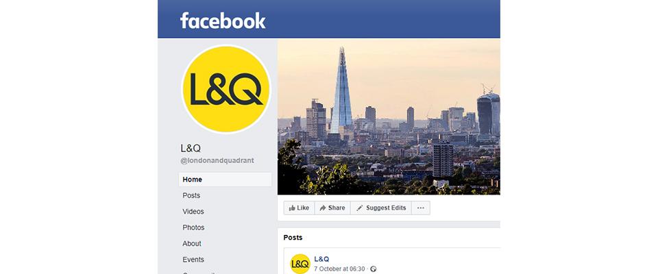 L&Q facebook page