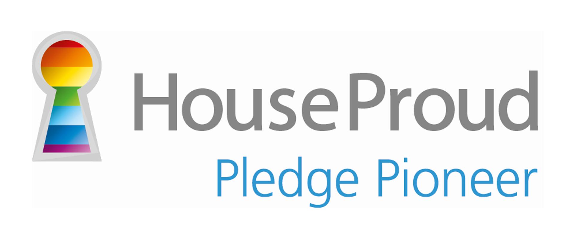 House Proud Pledge Pioneer logo