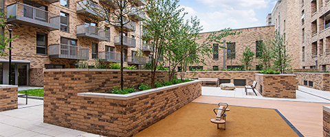 L&Q community courtyard