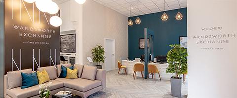 L&Q marketing suite (Wandsworth Exchange)
